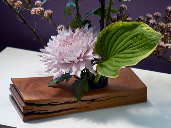 From J's Friend and Mentor Richard Seaboldt- J Creates a Japanese Flower Arrangement on Life in Bloom!