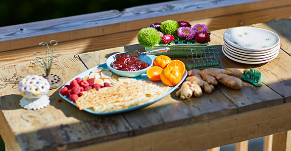 J offers up Frog Jam- with Inspired ingredients and Flower Frog Flower Accents!
