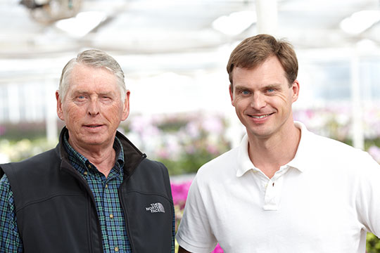 Toine Overgag and his father are orchid growers at Westerlay Orchids in California!