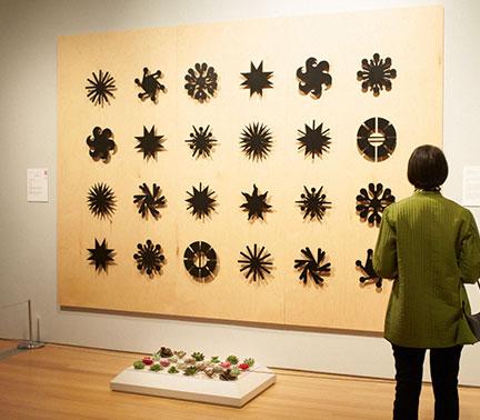 Rueben Antonio's installation at the Art in Bloom Event in Grand Rapids Michigan.
