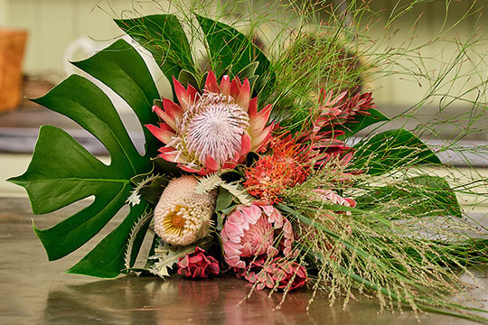 Hand Tied Protea Bouquet