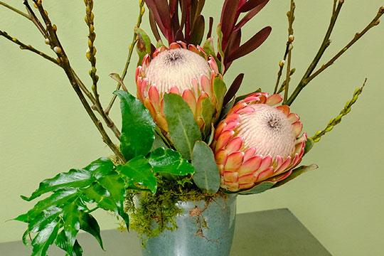 Flower Arranging Lesson - 4 Elements