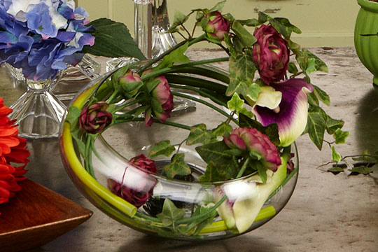 Windswirl Arrangement with Permanent Botanicals