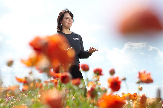 Michelle Castellano-Keeler shares the story behind the Carlsbad Flower Fields!