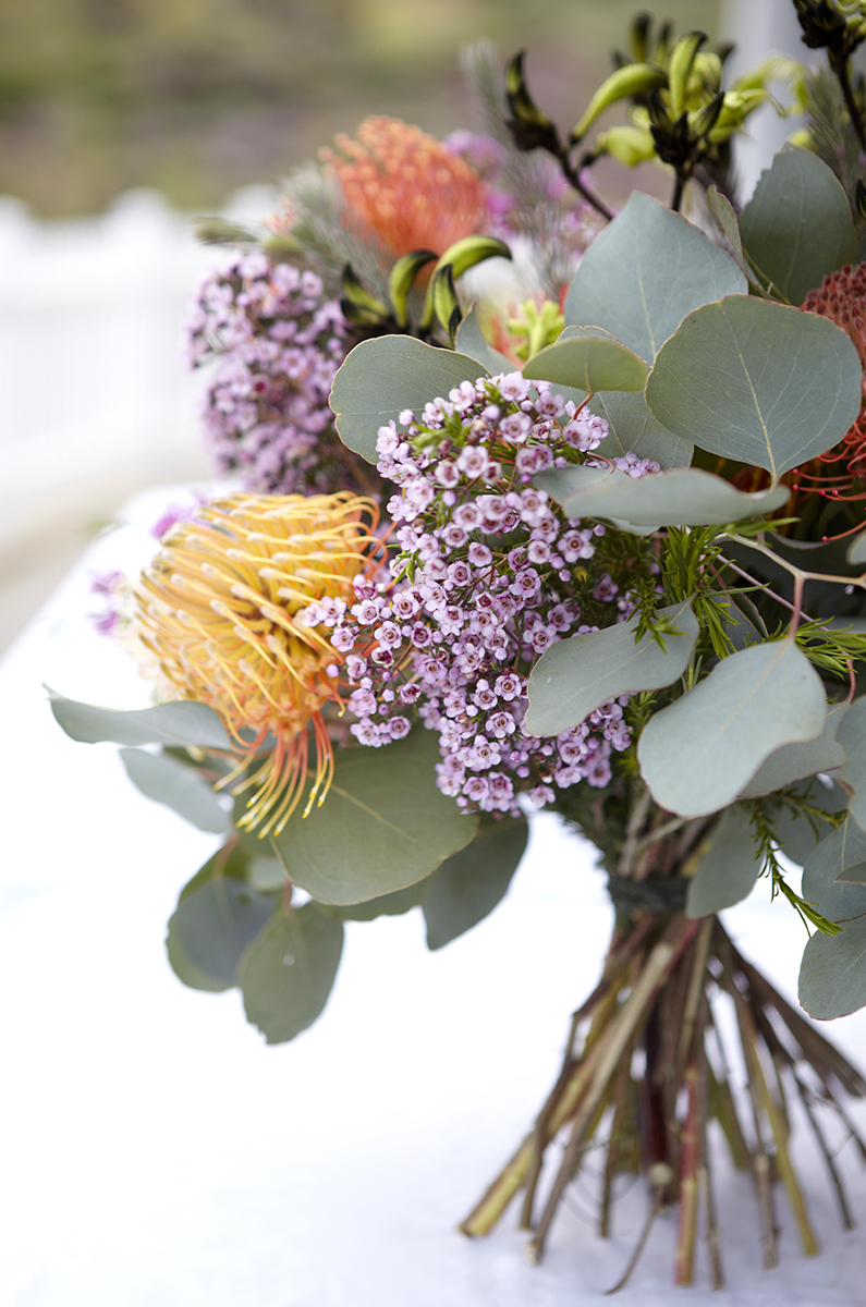 Flower Power- Bouquet of Protea from Resendiz Brothers...