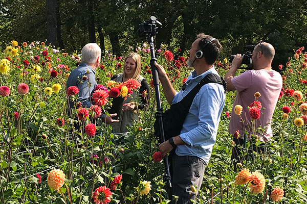 There's nothing quite like filming in the Flowers- what a treat to introduce you to Kristen Farmer and Hope Dahlias on this week's show!
