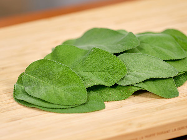 """""""Pretty"""" Large Organic Sage leaves- dry- and ready for frying..."""