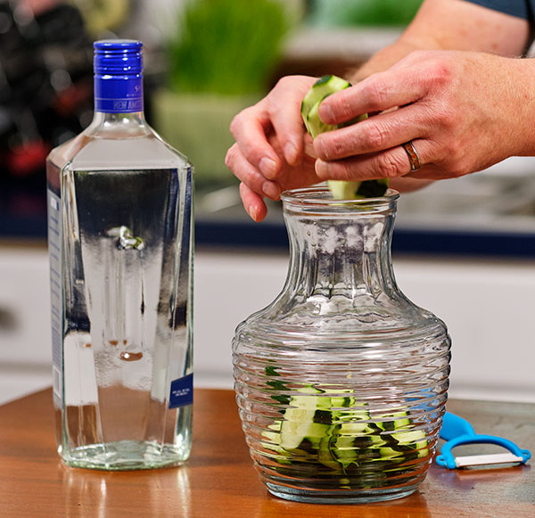 J shares his tips for Cucumber infused vodka on Life in Bloom!