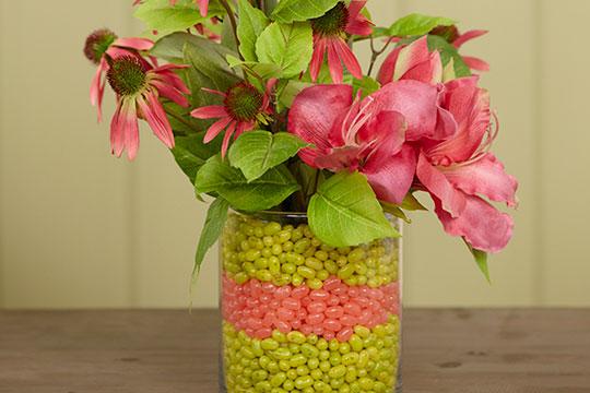 Forever Flower Lesson_Vase inside a Vase!