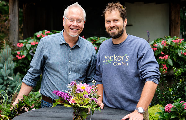 J Visits one of his favorite Garden Plant Spots- Jonkers Garden Center in Holland Michigan!
