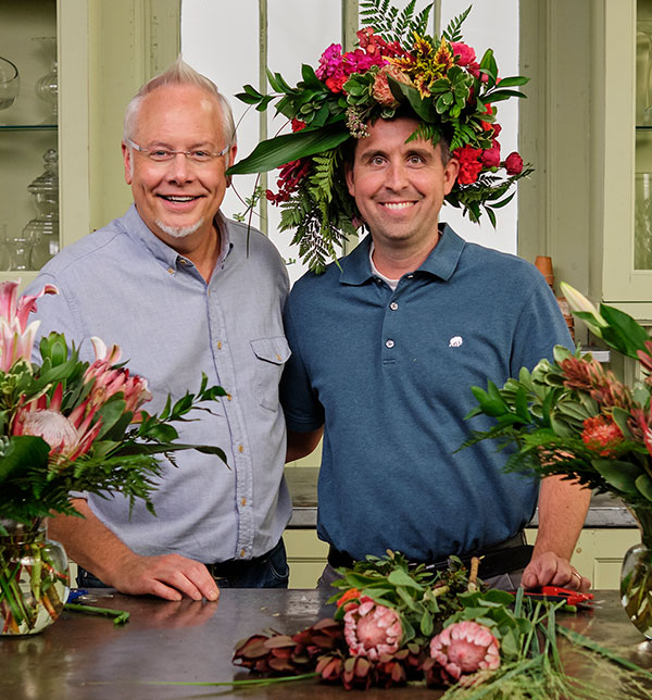 Dr. Adam Van Gessel DC stops by the Life in Bloom Studio to arrange flowers with J- and talk about the Health and Wellness Benefits of Flowers and Chiropractic!