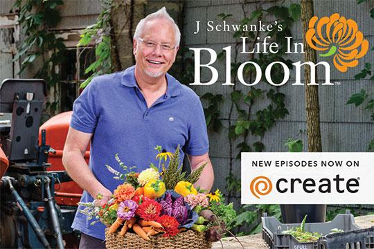 J Schwanke's Life in Bloom is coming to Create TV - July 7, 2020