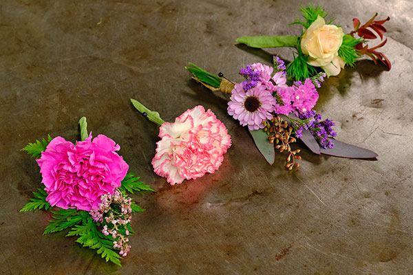 Flowers to wear and share- includes the history of the Boutonniere and lots more about wearable flowers!