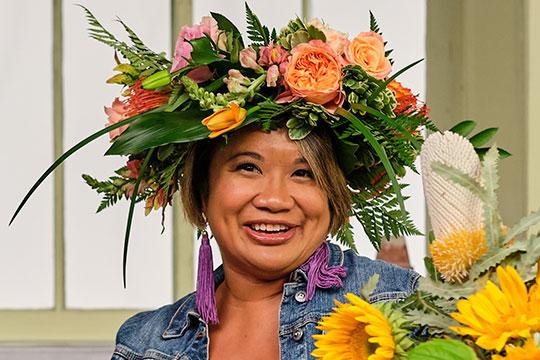 My Friend Jenn Pascua is a Media Expert in Grand Rapids- and a wonderful Flower Friend!