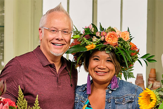 Jenn Pascua and J on Life in Bloom
