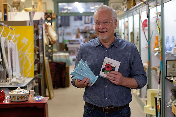 I visit Eastown Antiques in my search for Flower Arranging Containers- in this Episode of Life in Bloom!