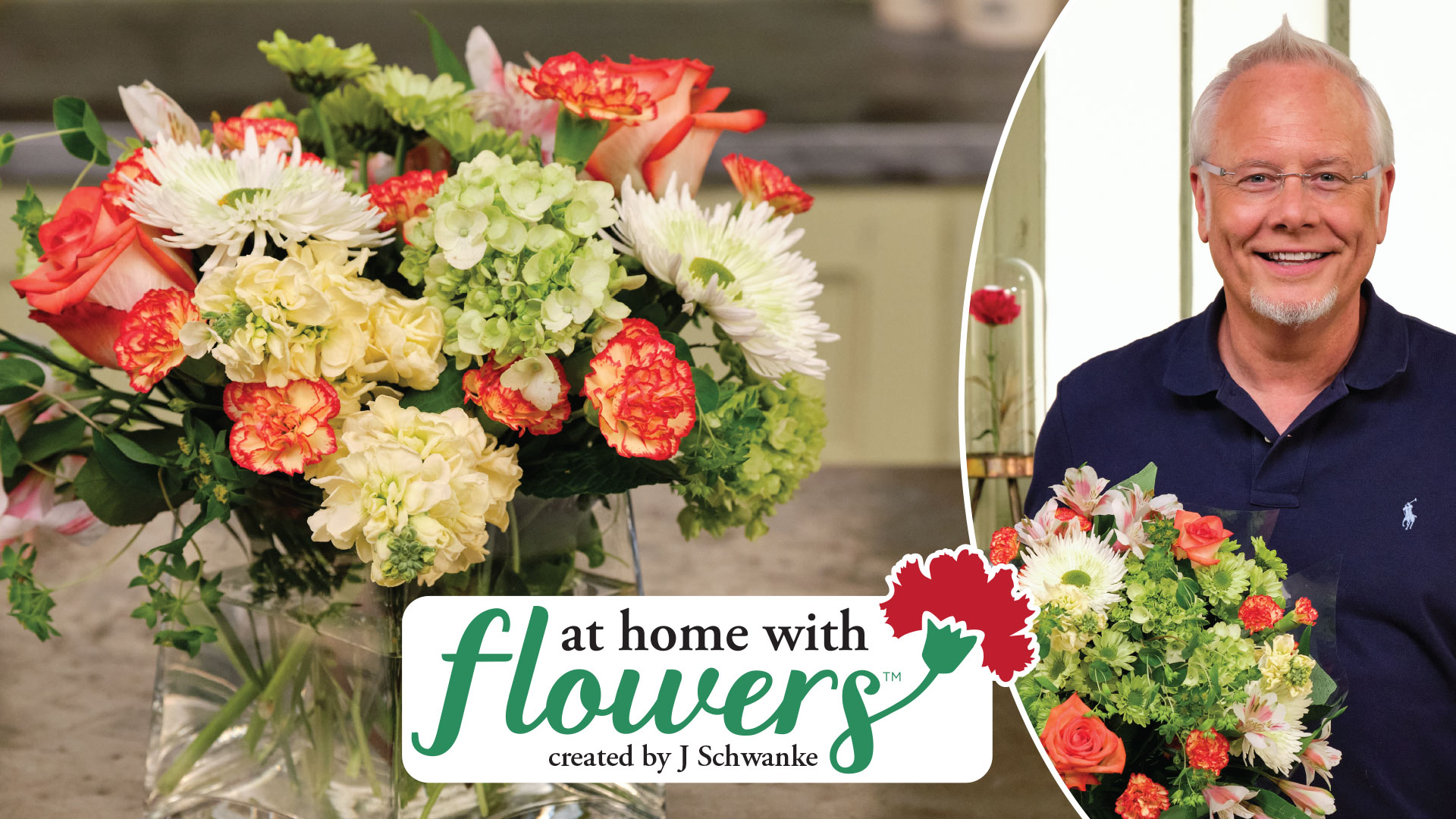 At Home with Flowers is my New Series at uBloom- that is designed to help EVERYONE feel more comfortable with having flowers at home!