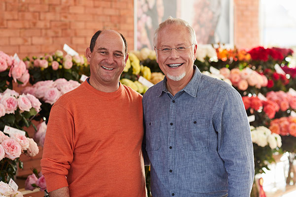 """Meet My Friend """"Joey"""" Azout - from Alexandra Farms- the Largest Garden Rose grower in the World!"""