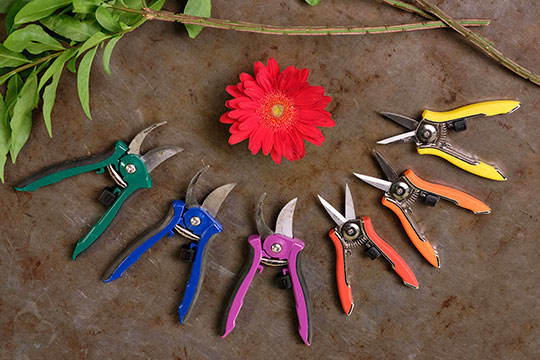 At Home with Flowers - Tools for Arranging Flowers