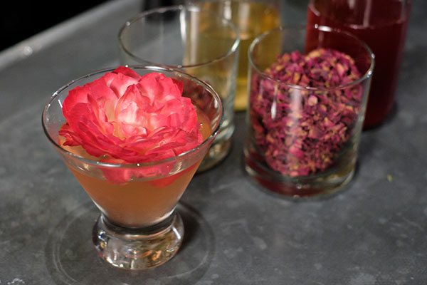 """The """"Pillow Talk"""" Cocktail created by my friend Kristin Adkins for Terra GR"""