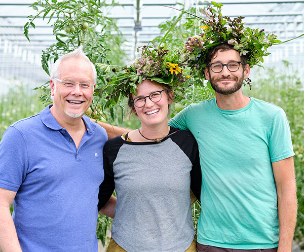 There's nothing better than having Friends that are Farmers- and being able to share the Joy of Flowers... It was a JOY visiting Jamie and Bradley at Full Hollow Farm!