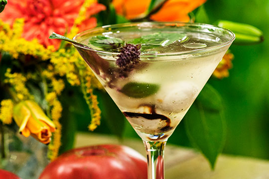 Capresé Martini Recipe