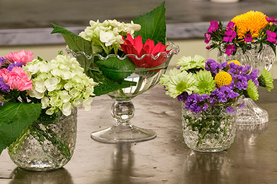 Break-a-way Flower Bouquets with J's Bouquets!