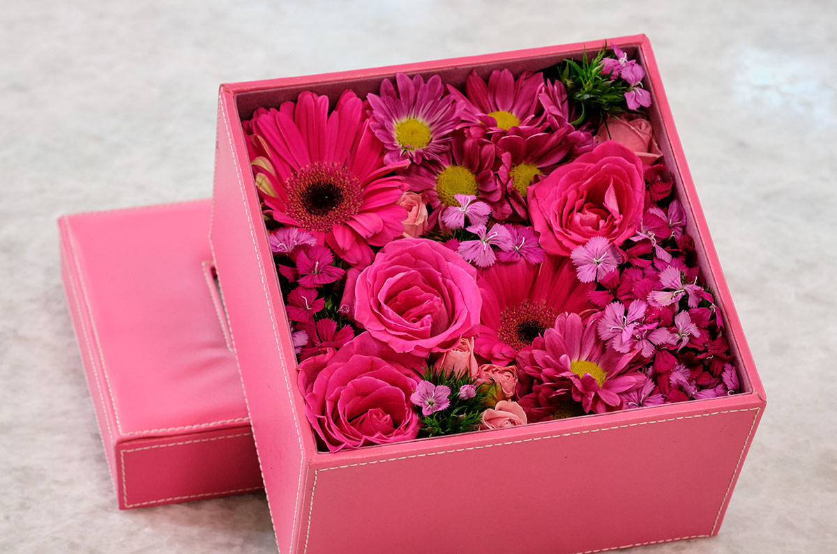 Bouquet in a Box - for Valentine's Day!