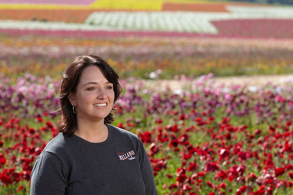 We couldn't ask for a better tour guide- than the (NOW) President of the Society American Florists- and Flower Champion- Michelle Castellano-Keeler!