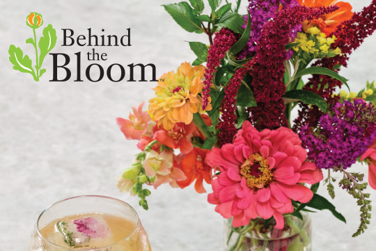 "Behind the Bloom_""Field of Flowers"" Cocktail Arrangement"