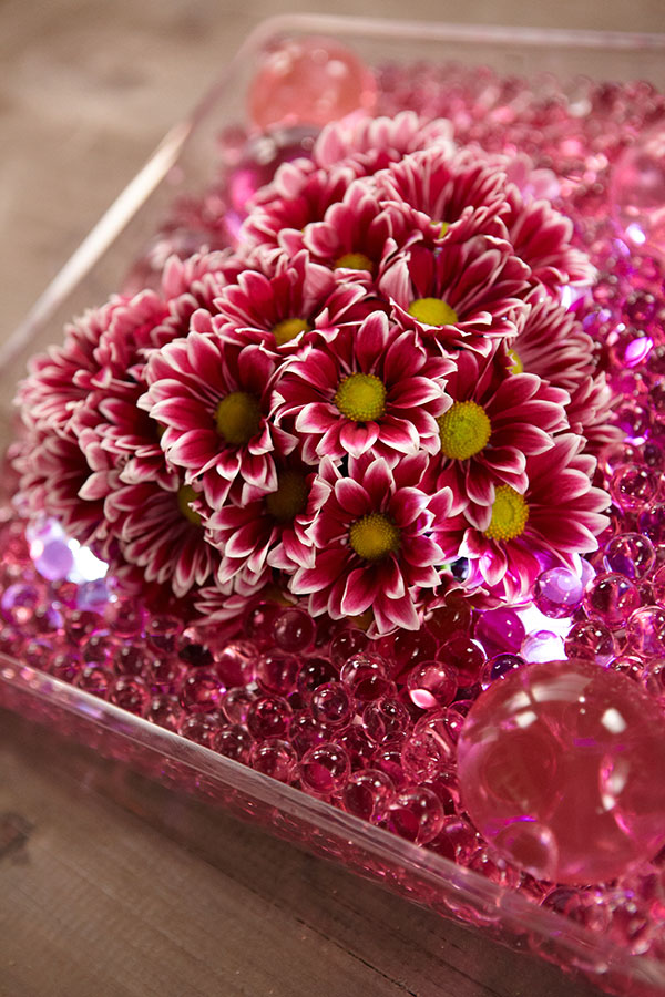 J shares the easy way to create a heart of flowers!