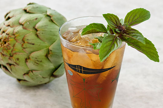 This slightly bitter Liqueur that is made from Artichokes- provides a great alternative for Flower cocktail hour!