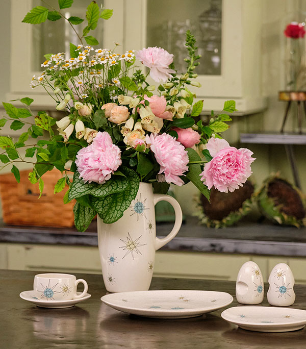 It's Fun to enjoy flowers with your Coffee, Tea- or anytime you're in the mood!