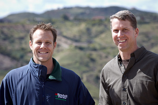Jason Kendall and Troy Conner are cousins that operate Kendall Farms in California!