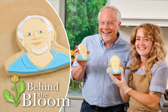 """Behind the Bloom - Kara makes """"J"""" Cookies…with J!"""