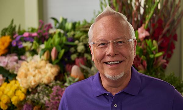 "J Schwanke- Host of ""J Schwanke's Life in Bloom"" on Public Television - and everyone's Favorite Flower Guy!"