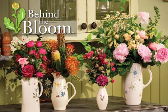 "Behind the Bloom - Franciscan ""Flower Vessels"""