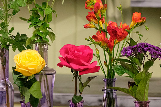 Fragrant Flower Bud Vases