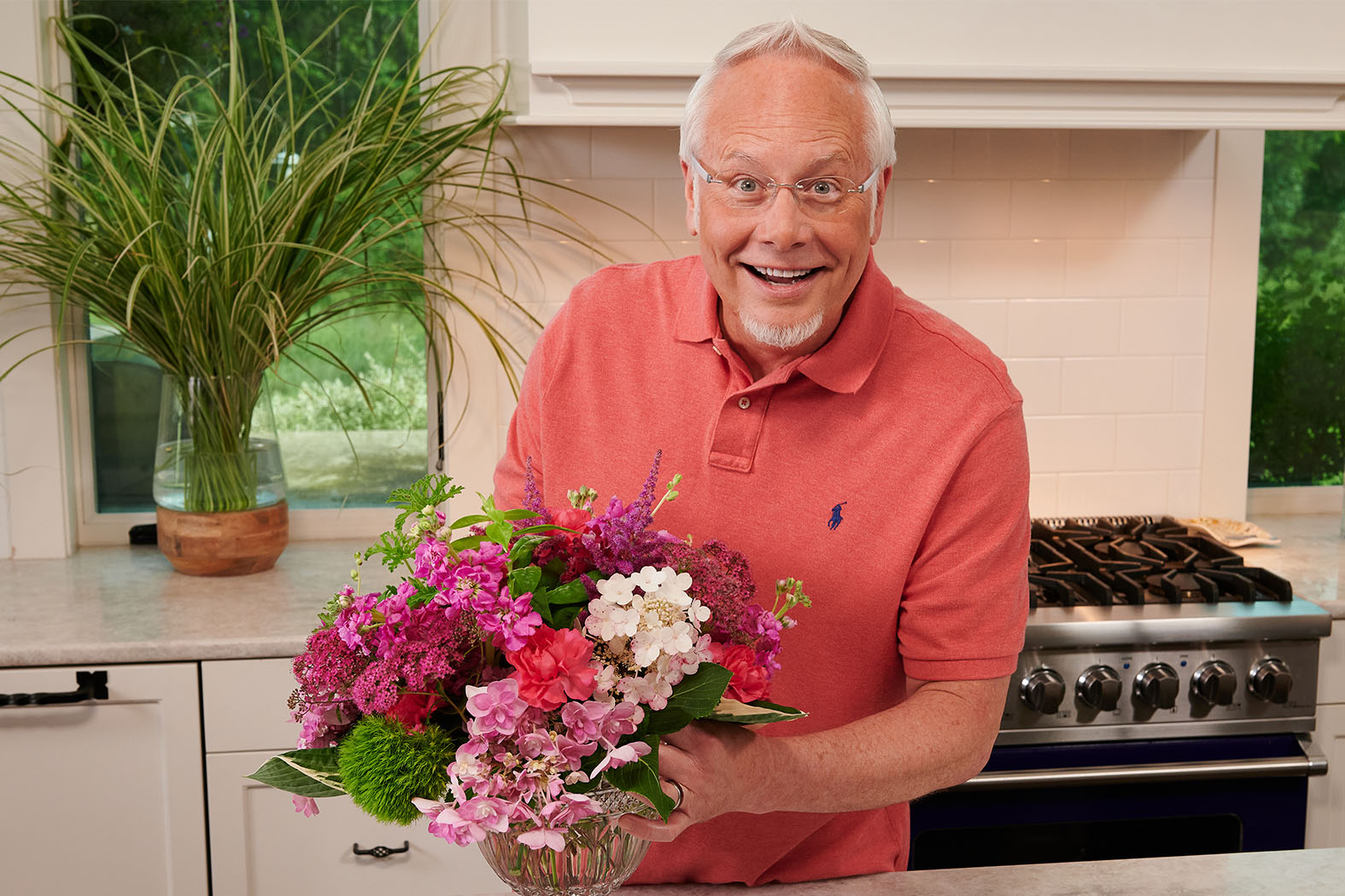 J Schwanke is honored to have been chosen as the single Vanguard on the list from the flower industry, so noted for creating the first national television show that focuses on cut flowers, specifically.