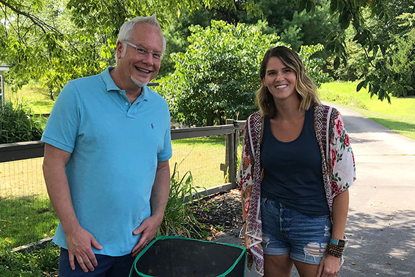 Monarch Mom- Laura Golinski creates a Monarch Butterfly Nursery to support the species in her home and garden!